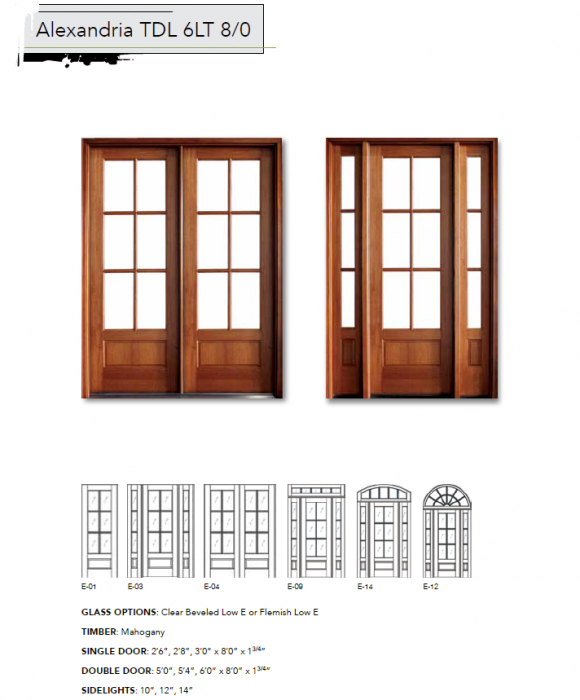 Fakes And Hooker Exterior Doors